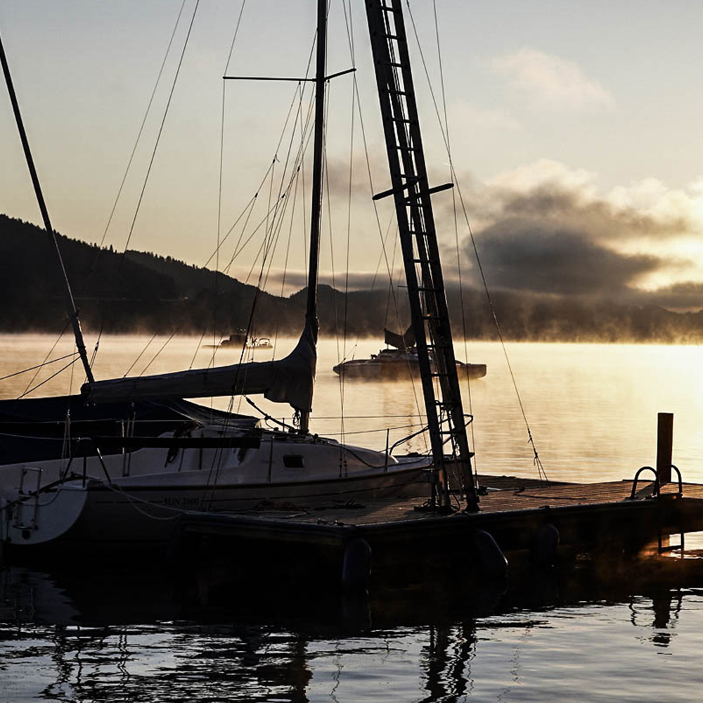 Segelboot am Wörthersee