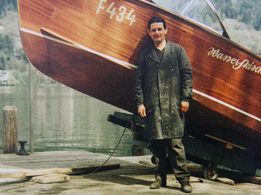 1959: Gründung einer Werft am Ossiacher See