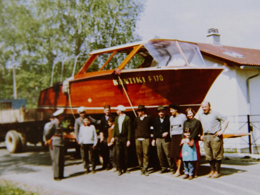 1966: Bau der MS Kontiki