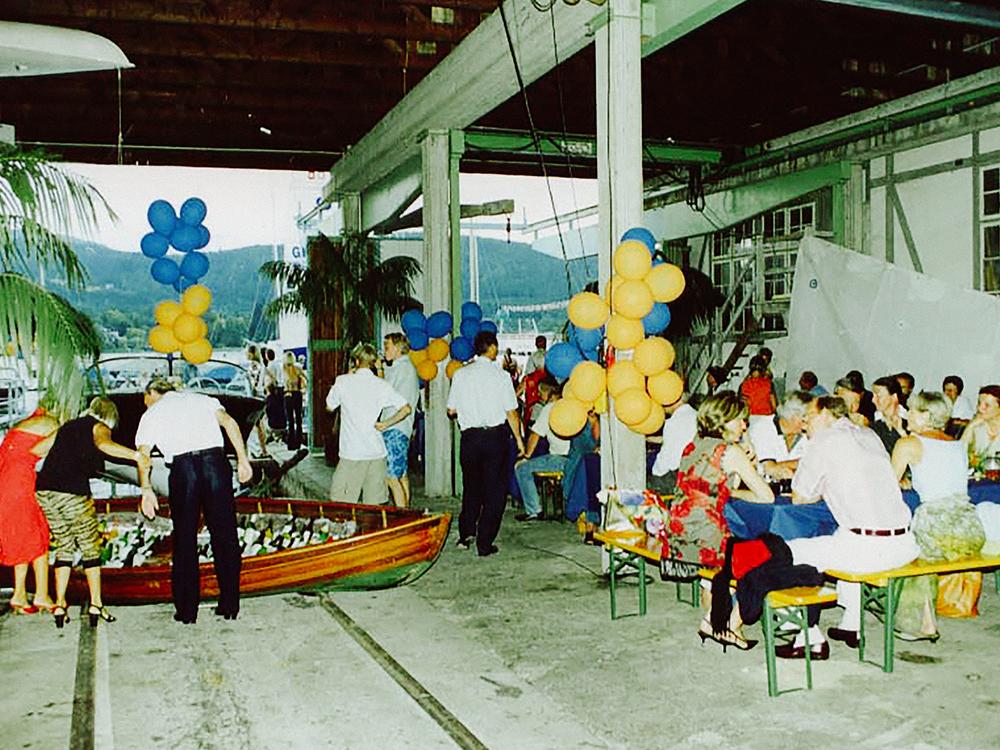 1988: Kauf und Ausbau der Werft in Velden