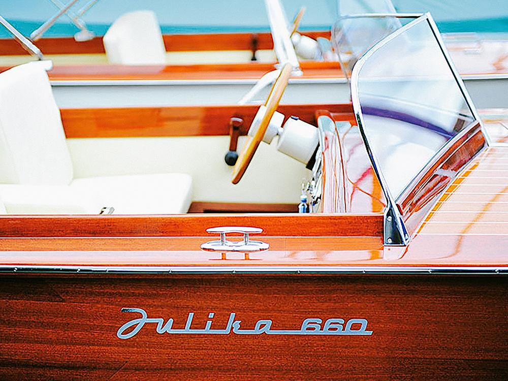 Julika 660 Holzboot