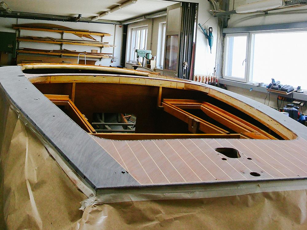 Revival Bordwände von Holzboot