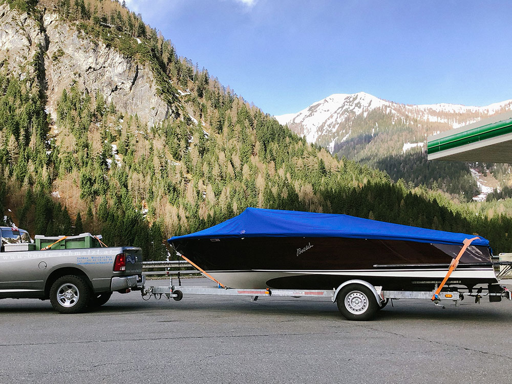 Bootstransporte mit Anhänger in Kärnten