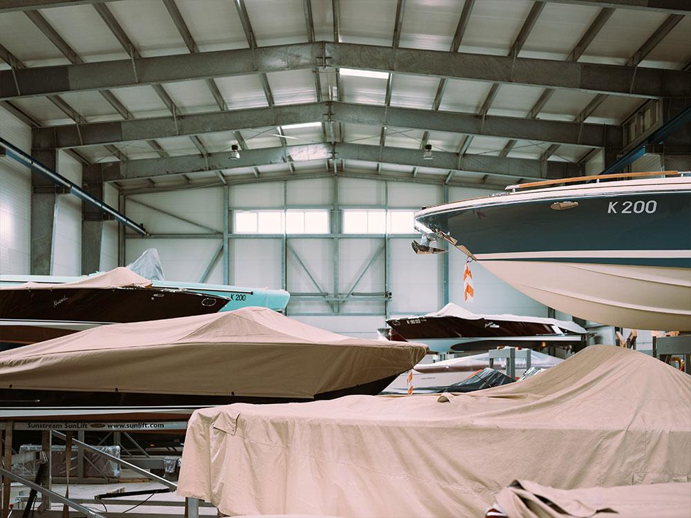 Winterlager für Boote Wörthersee