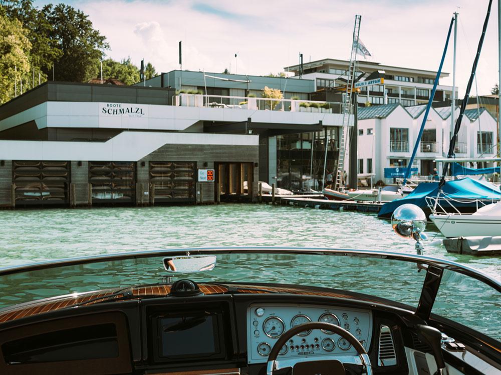 Bootsbau aus Leidenschaft in Velden